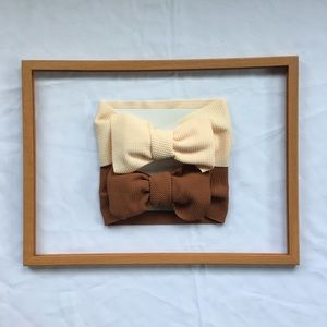 Other - Girls' Big Bow Duo🎀🎀 BRAND NEW‼️